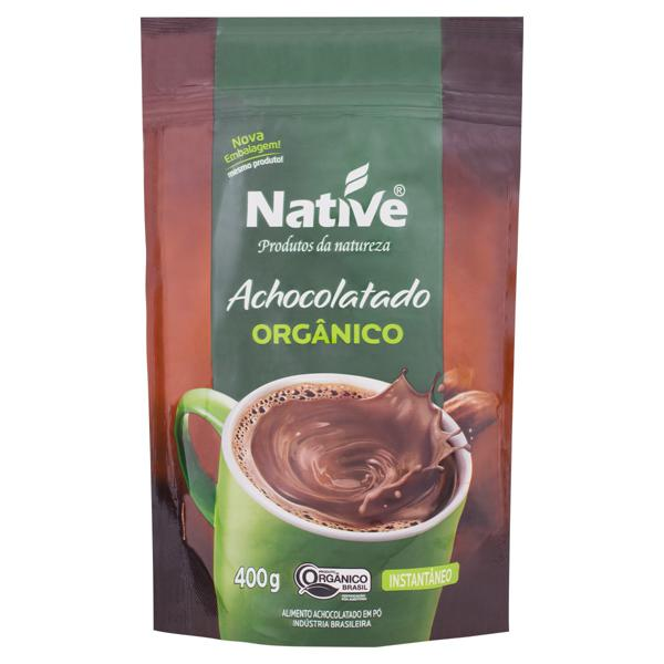 Achocolatado em Pó Orgânico Native Sachê 400g