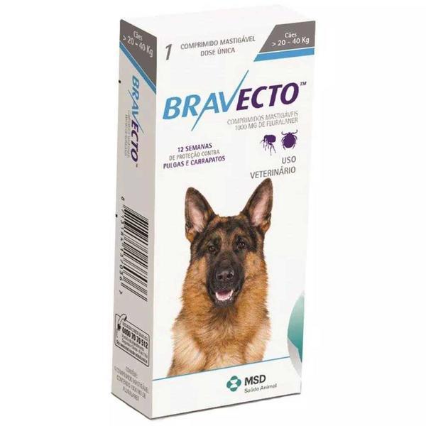 Bravecto 20 - 40 Kg