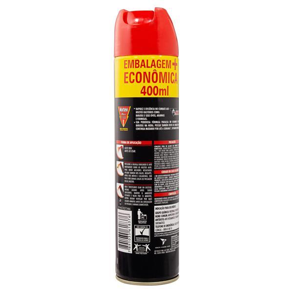 Inseticida Aerossol Mortein Pro Frasco 400ml Embalagem Econômica
