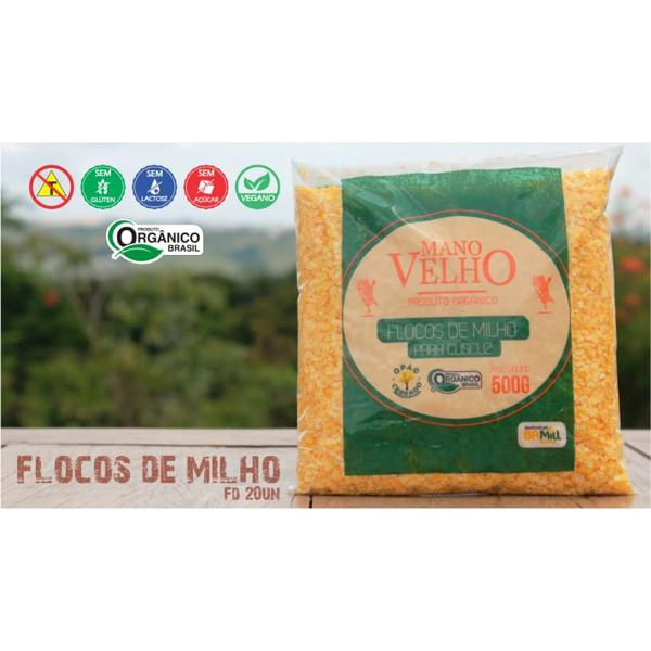 Flocos de Milho Orgânico 500g