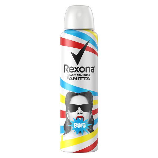 Antitranspirante Aerossol Bang Rexona by Anitta 150ml