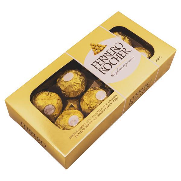 Bombom Ferrero Rocher Pacote 100g