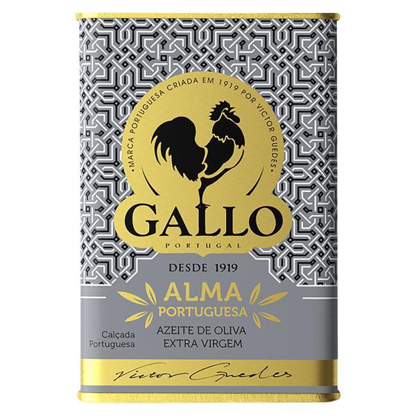 Azeite de Oliva Extravirgem Português Gallo Alma Portuguesa Lata 500ml