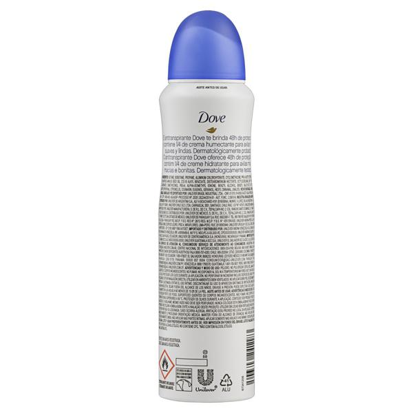 Antitranspirante Aerossol Original Dove 150ml