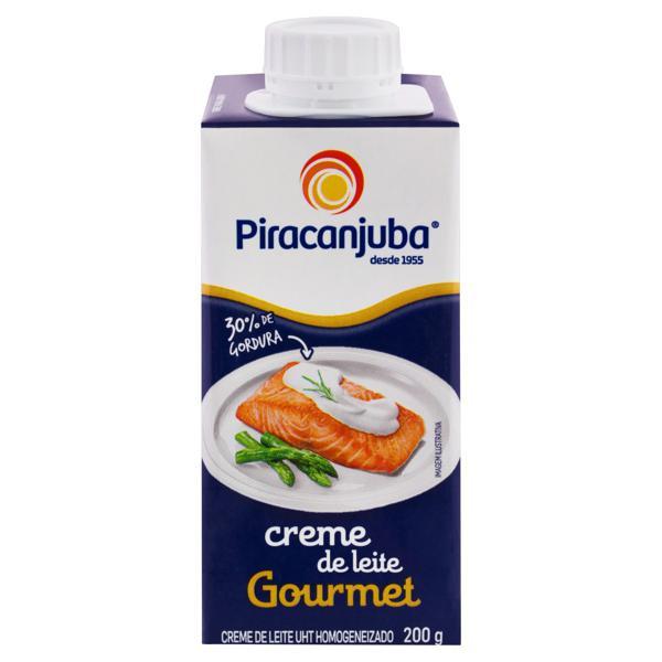 Creme de Leite UHT Homogeneizado Piracanjuba Gourmet Caixa 200g