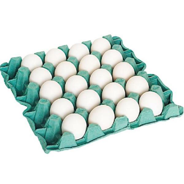 Ovos Brancos Clara E Gema Grande Pvc C/30