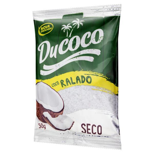 Coco Ralado Seco Ducoco Pacote 50g