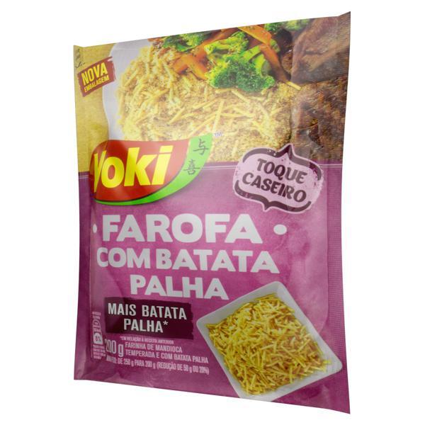 Farofa de Mandioca com Batata Palha Yoki Pacote 200g