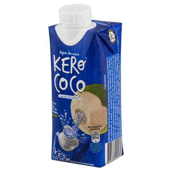 Água de Coco Esterilizada Kero Coco Caixa 330ml