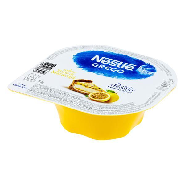 Iogurte Grego Torta de Maracujá Nestlé Pote 90g