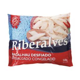 Bacalhau Desf Riberalves Cong 500G