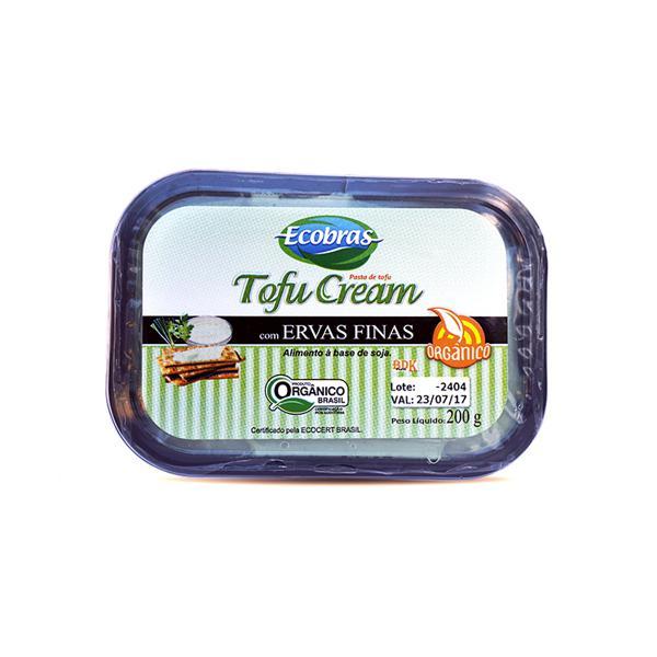 TofuCream Orgânico Ervas Finas 200g - Ecobras