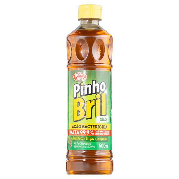 Desinfetante Multiuso Pinho Silvestre Bom Bril Pinho Bril Plus Frasco 500ml
