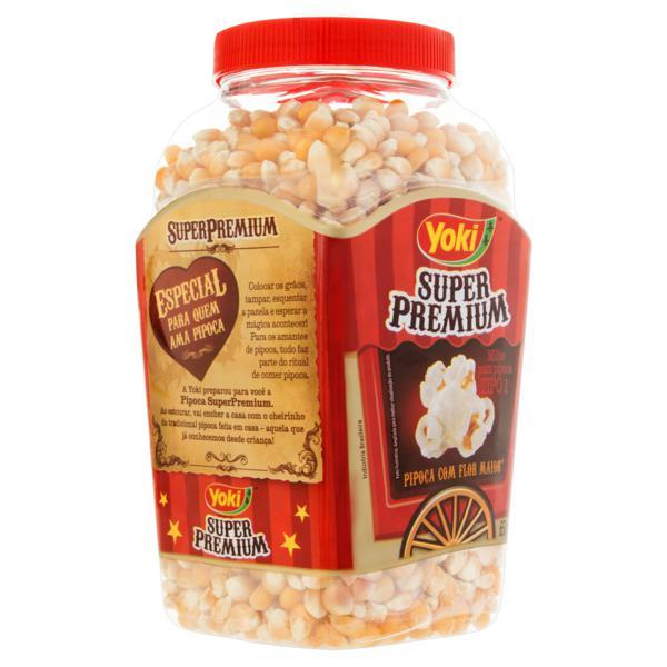 Milho para Pipoca Tipo 1 Yoki Super Premium Pote 650g