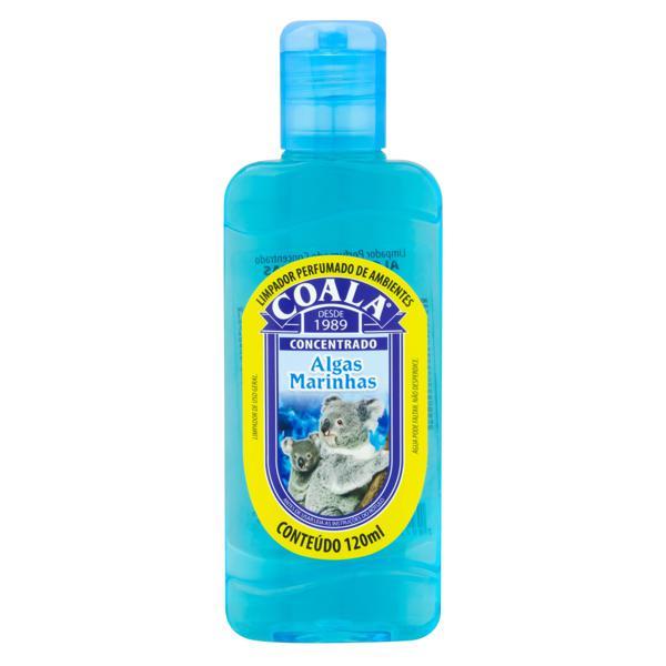 Limpador Perfumado Concentrado Algas Marinhas Coala Frasco 120ml
