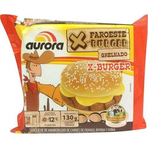 Hambúrguer AURORA X-Burguer 130g