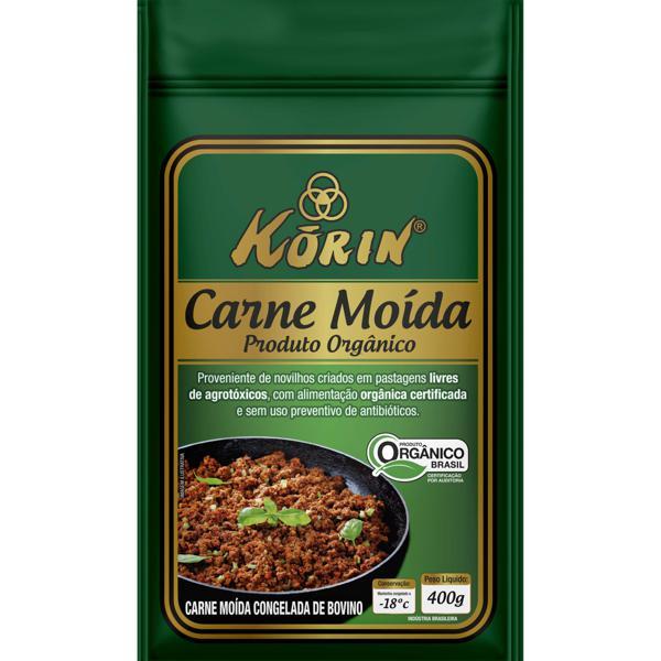 Carne moída bovina orgânica Korin - 400 g