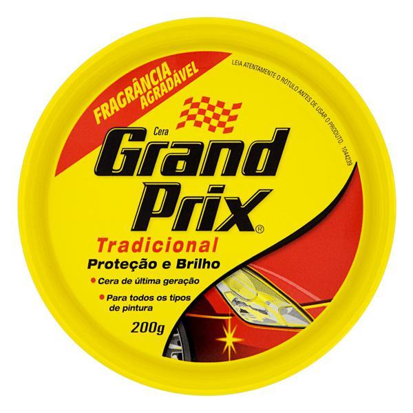 Cera em Pasta Tradicional Grand Prix Lata 200g