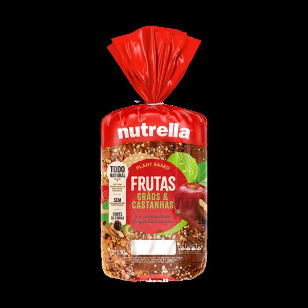 Pao Nutrella 550G Frutas