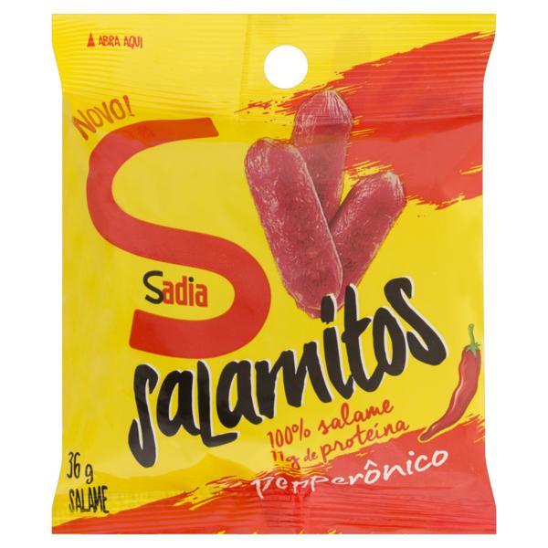 Salame Salamitos Peperônico Sadia 36g