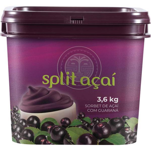 Açaí SPLIT Original Balde 3,6kg