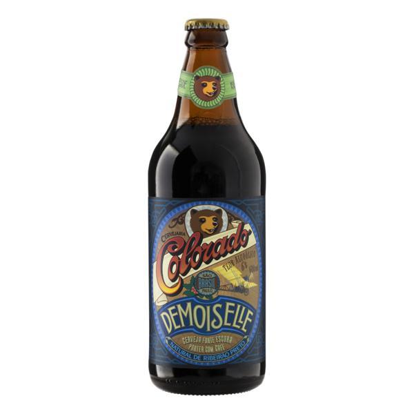 Cerveja Porter com Café Demoiselle Colorado Garrafa 600ml