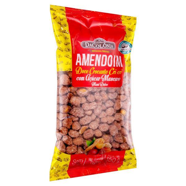 Amendoim Cri-Cri Crocante DaColônia Pacote 350g