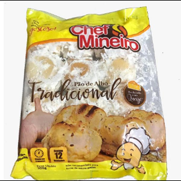 Pao Alho Chef Mineiro 300G Tradicional
