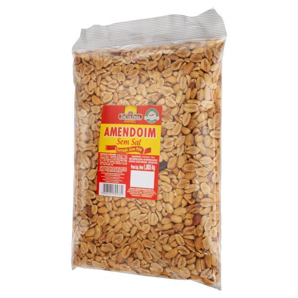 Amendoim Torrado sem Sal DaColônia Pacote 1,005kg