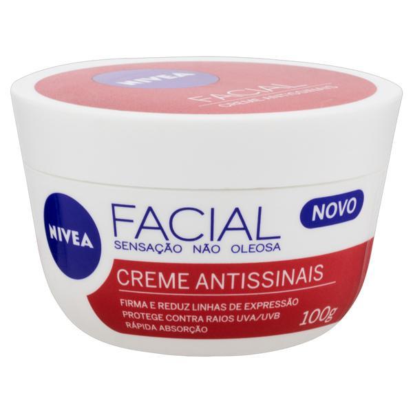 Creme Facial Antissinais Nivea Pote 100g