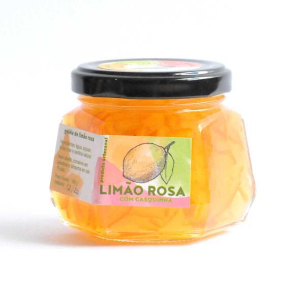 Geleia de Limão Rosa 185g - Porteira Verde