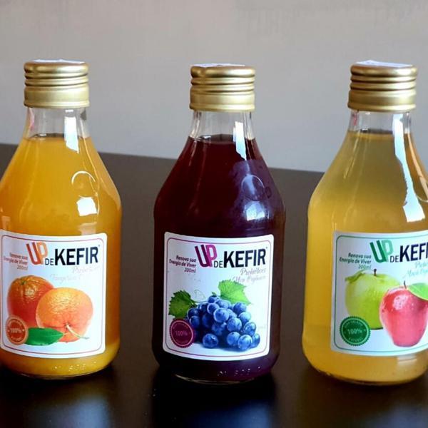 Kit Kefir com 7 garrafas de 200ml - UPdeKEFIR