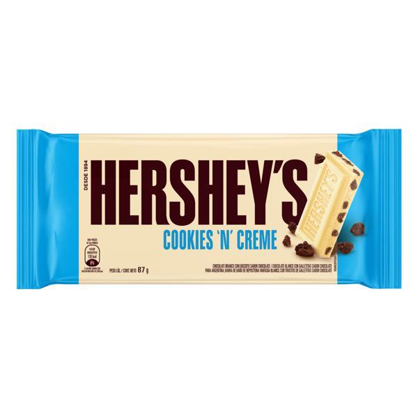 Chocolate Branco Cookies 'n' Creme Hershey's Pacote 87g