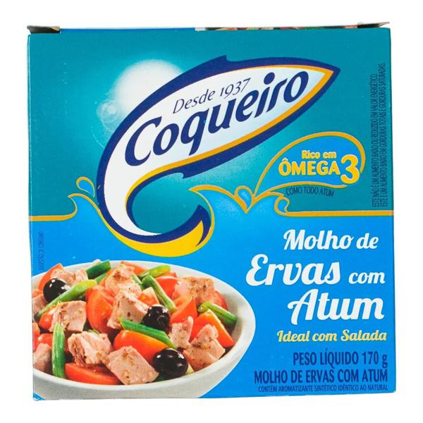 Atum COQUEIRO Com Molho de Ervas 170g