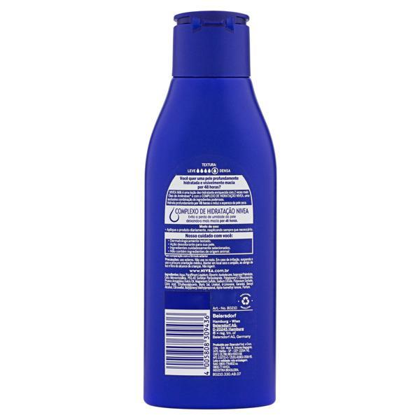 Loção Deo-Hidratante Nivea Milk Frasco 200ml