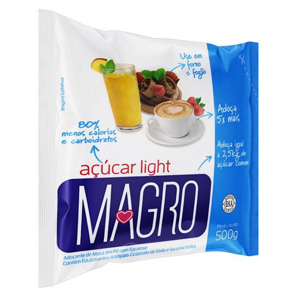 Adoçante em Pó com Sacarose Light Magro 500g
