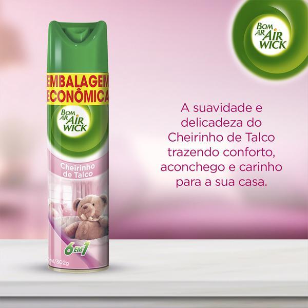 Neutralizador de Odores Cheirinho de Talco Air Wick Bom Ar Frasco 360ml Embalagem Econômica