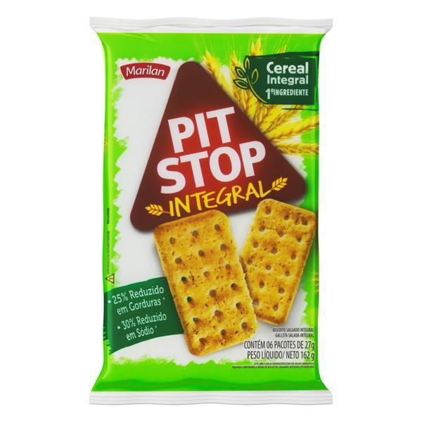 Biscoito Integral PIT STOP Marilan 162g