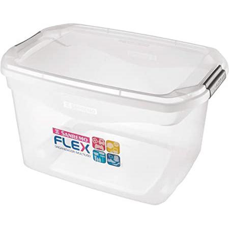 Organizador SANREMO Plástico Transparente 29L