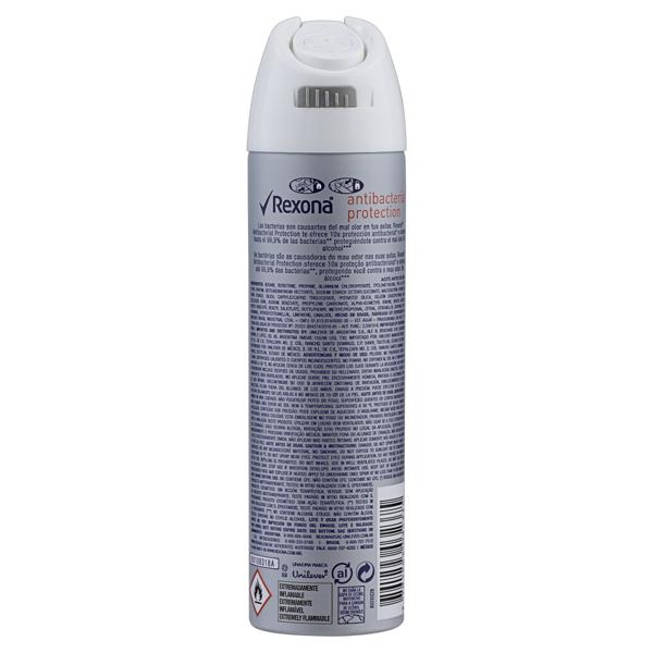 Antitranspirante Aerossol Antibacterial Protection Rexona Motionsense 150ml
