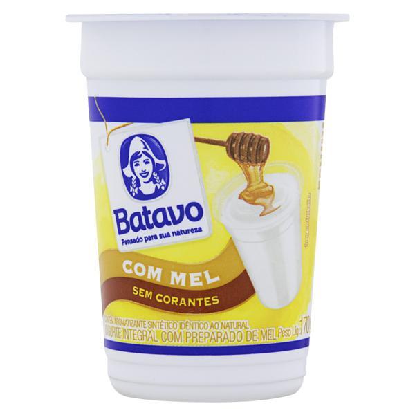 Iogurte Integral Mel Batavo Pote 170g