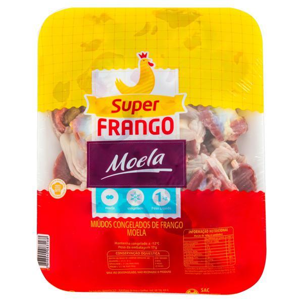 Moela de Frango Congelada SUPERFRANGO 1kg