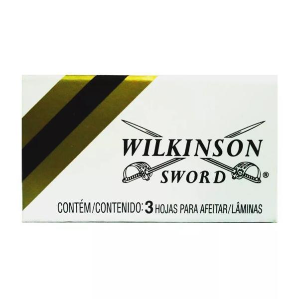 Lâmina WILKINSON SWORD Inox Com 3 Unidades
