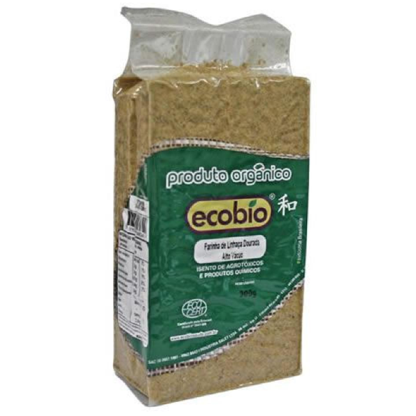 Farinha de Linhaça Orgânica 300g - Ecobio