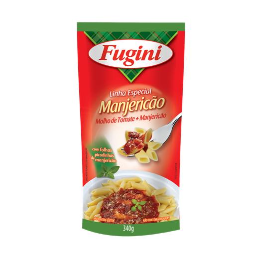 Molho de Tomate FUGINI Sachê Manjericão 340g