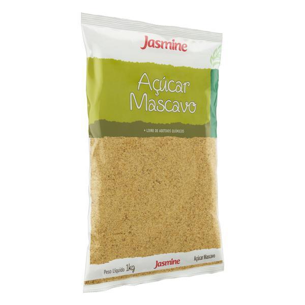 Açúcar Mascavo Integral Jasmine Pacote 1kg