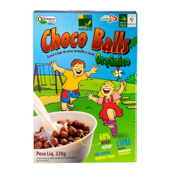 Choco Balls - Cereal a base de Arroz Vermelho Orgânico (220g)