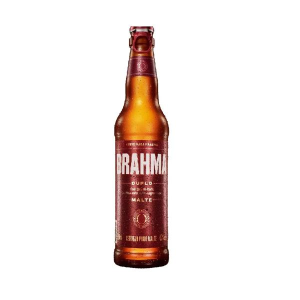 Cerveja Brahma Duplo Malte Long Neck 330ml