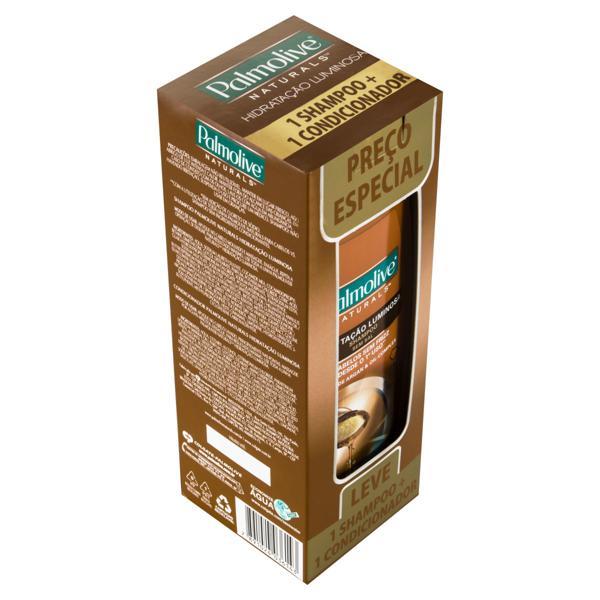 Kit Shampoo + Condicionador Palmolive Naturals Hidratação Luminosa 350ml Cada