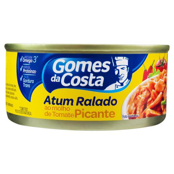 Atum Ralado ao Molho de Tomate Picante Gomes da Costa Lata 140g